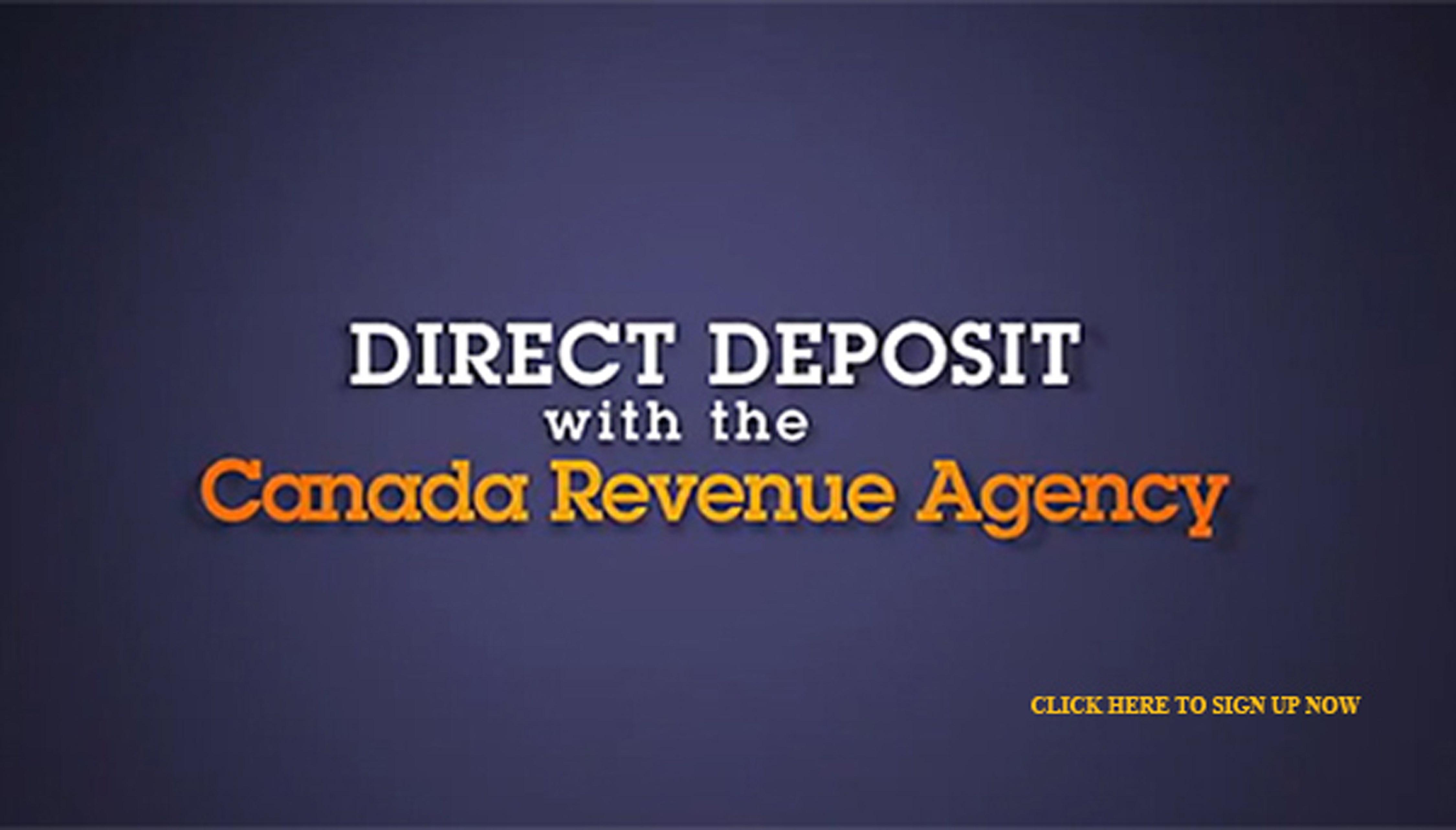 Direct deposit ad