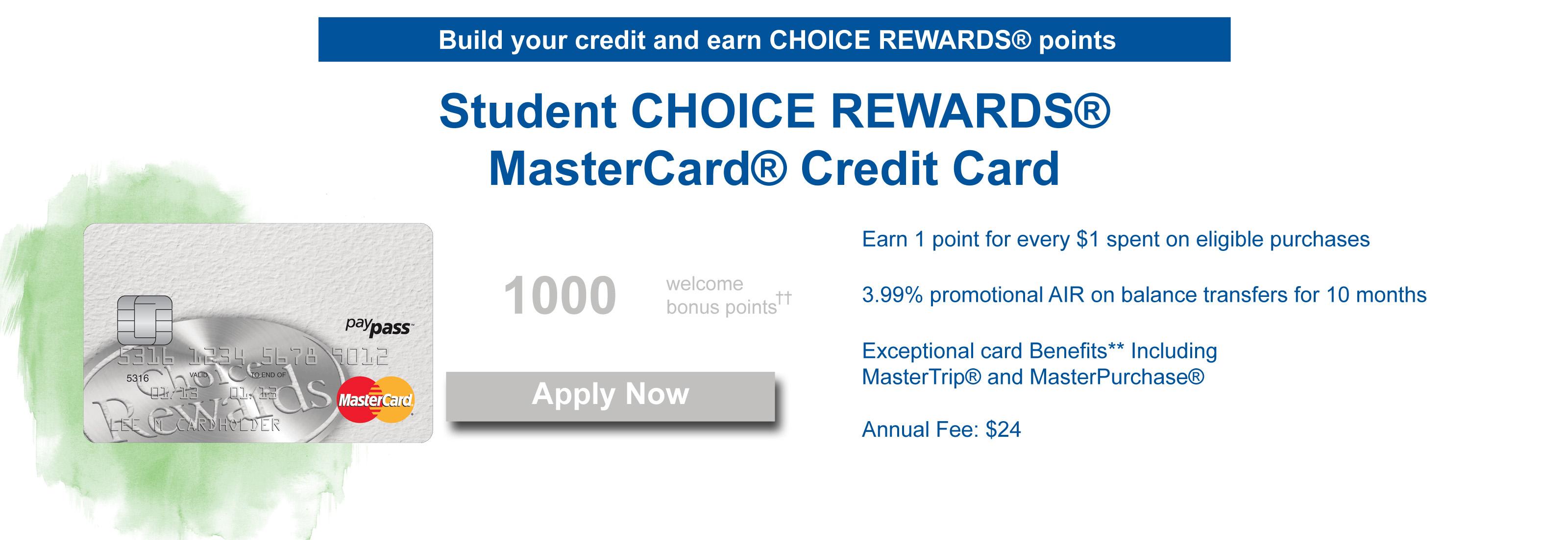 student choice rewards