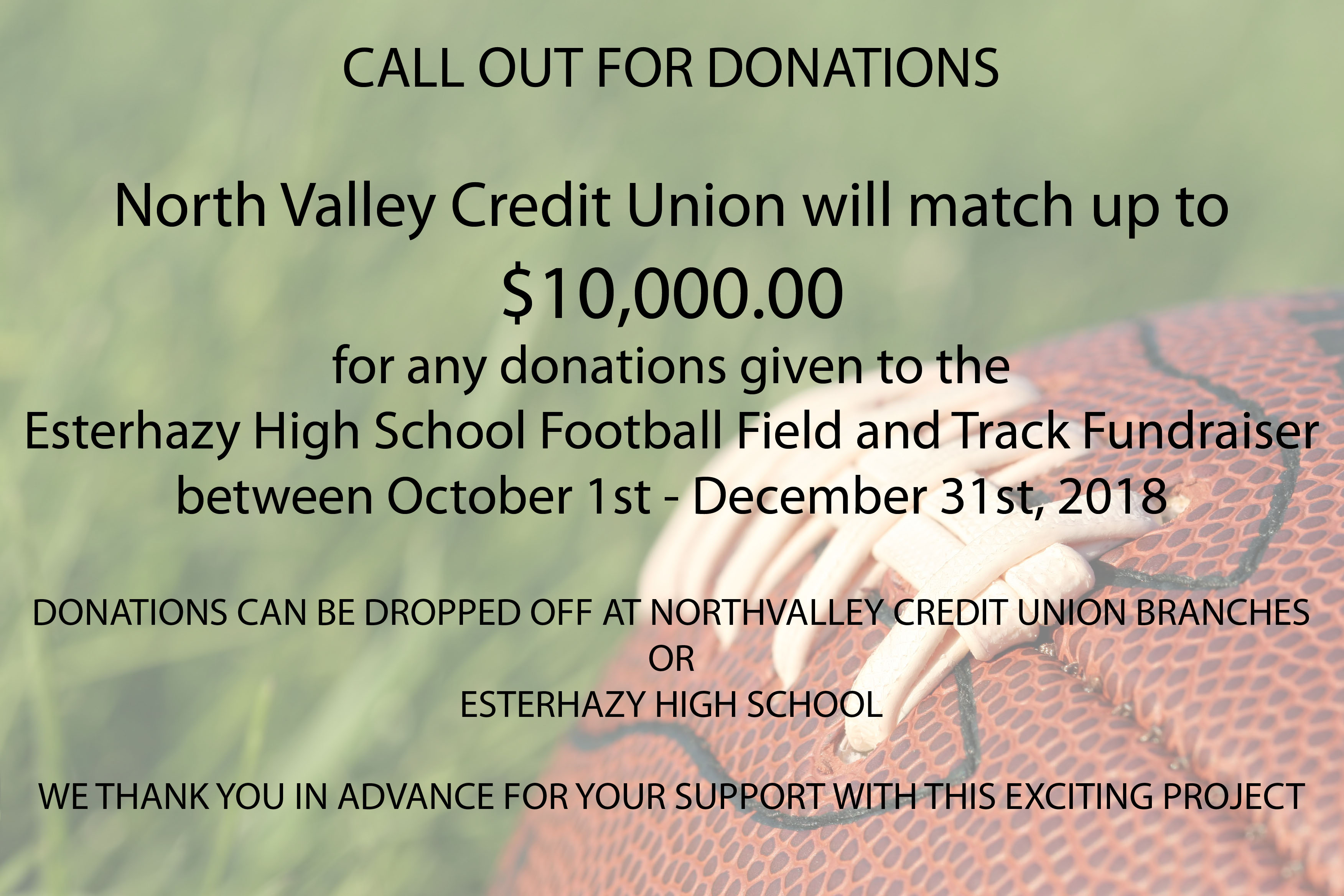 EHS football and track fundraiser